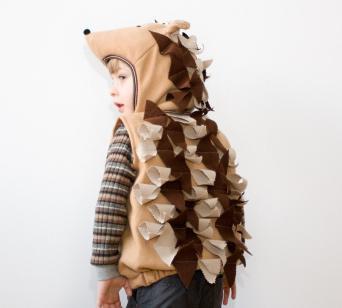 детский костюм ежика
