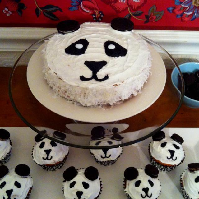 Торт Панда своими руками