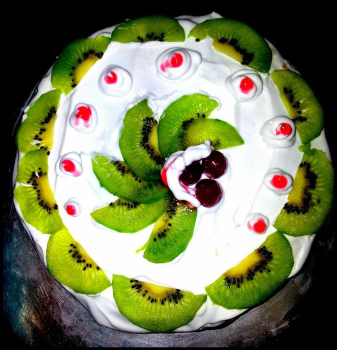торты с фруктами, фото