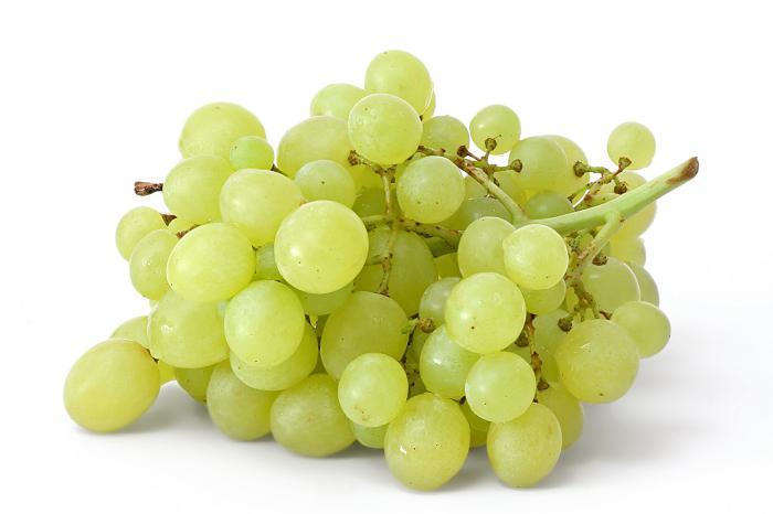 Калорийность винограда зеленого