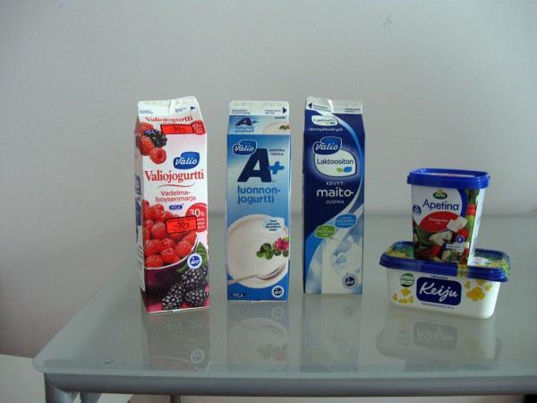 Финский йогурт milbona