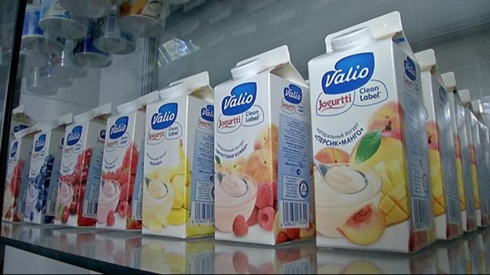 Финский йогурт в ведерке