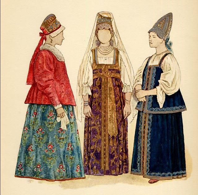 Русское народное платье для девочки