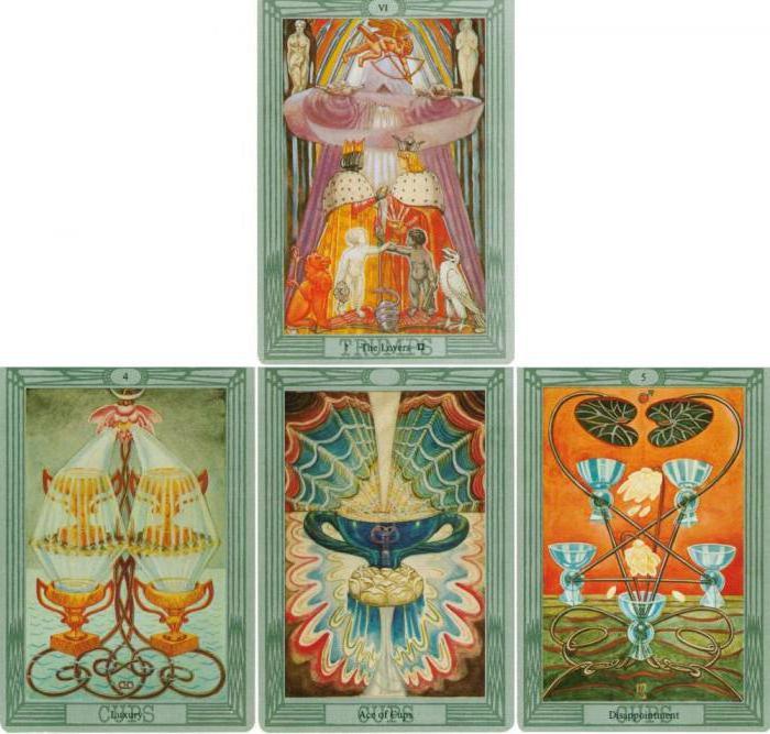 Четыре карты верности гадание гадание монетами с картами