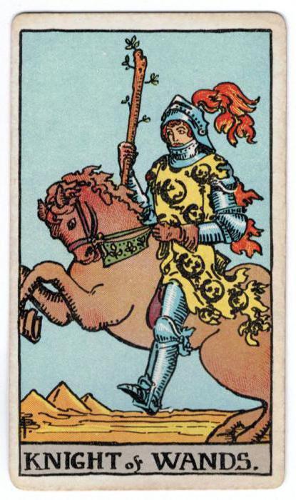 Рыцарь жезлов: значение (Таро)