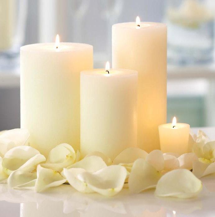Когда и как в магии используются белые свечи?