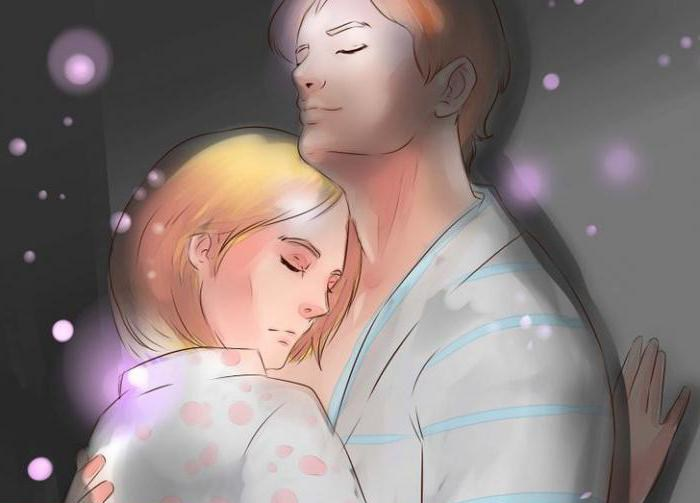 целоваться с покойником мужчиной во сне