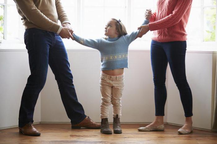 как при разводе оставить ребенка с отцом
