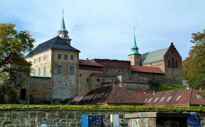Акерсхус, крепость в Норвегии: описание и фото