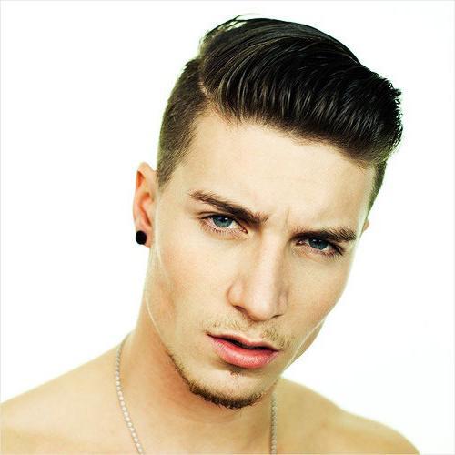 Причёска с короткими волосами мужская