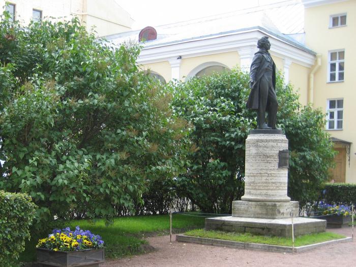 музей пушкина мойка 12