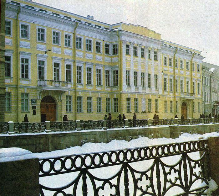 мойка 12 музей квартира пушкина