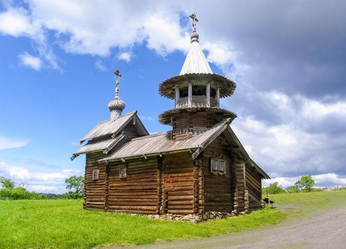 деревянные церкви острова кижи