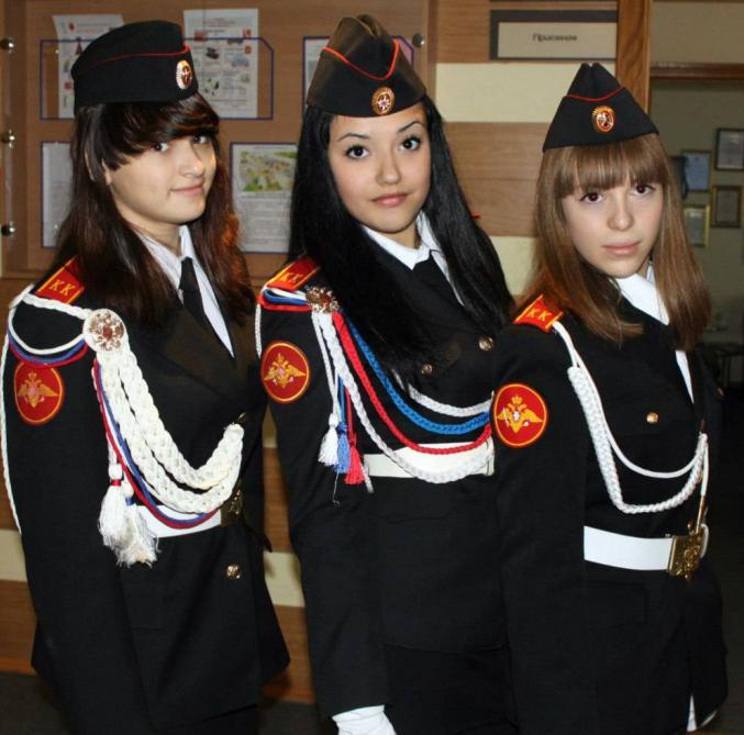 фото кадетов девочек