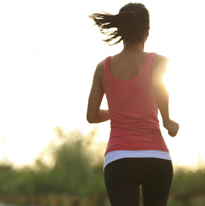 Полезность бега для дамы. Вероятный вред бега для организма