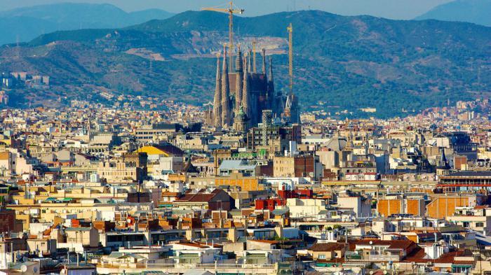 барселона город в испании фото