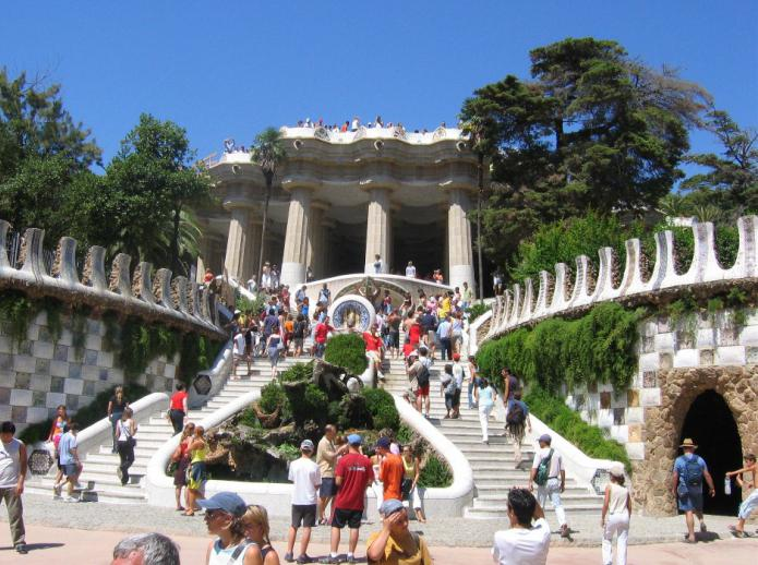 барселона город в испании достопримечательности