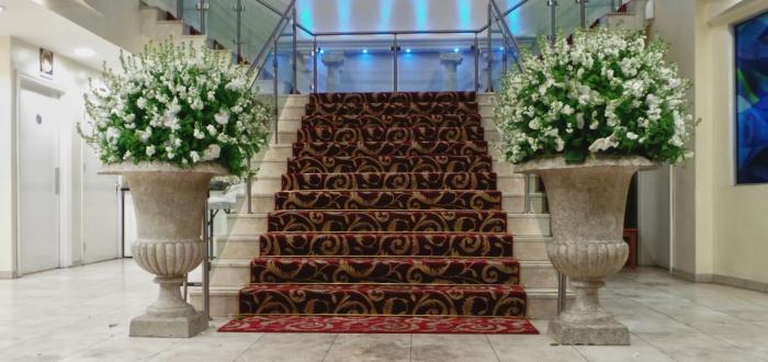 Оригинальное свадебное оформление