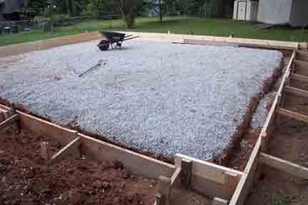 Заливка бетона своими руками в 63