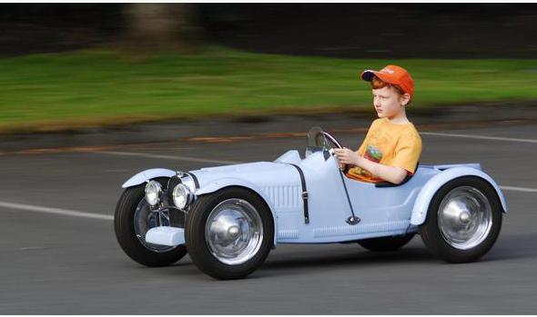 электромобиль своими руками схема