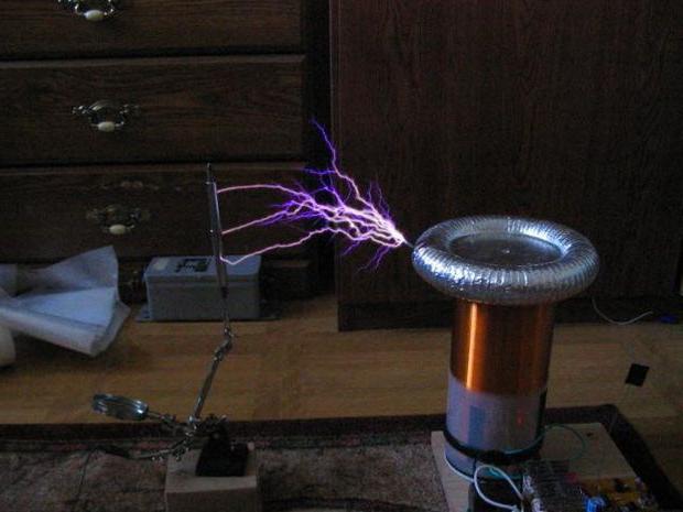 катушка тесла на транзисторе