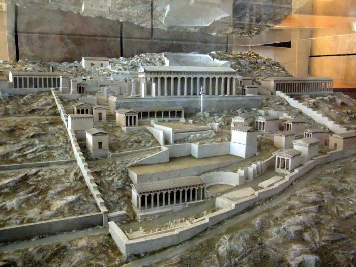 модель греческого полиса