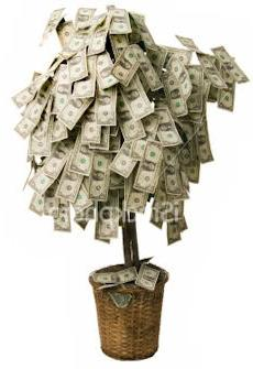 Денежное дерево с монетками своими руками