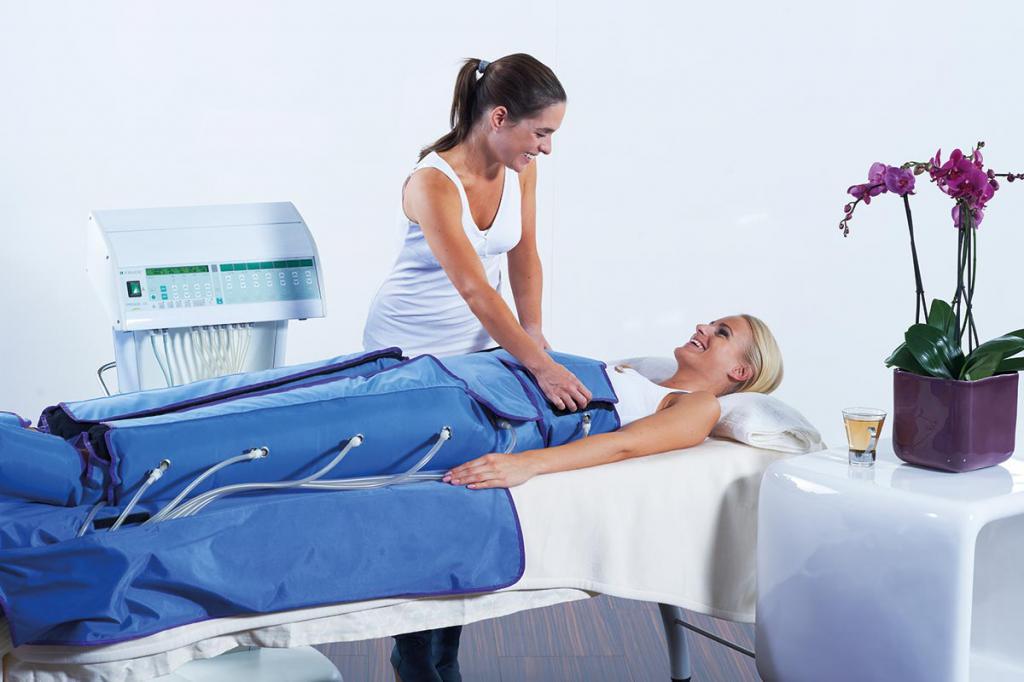 Процедура похудения прессотерапия