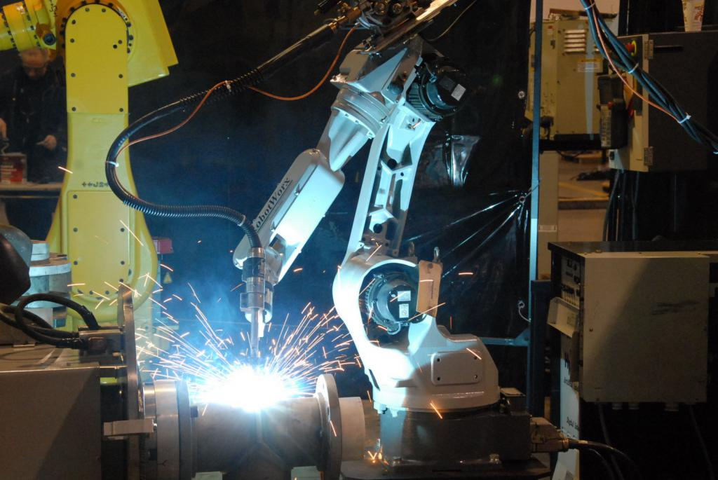 роботизация сварочного производства