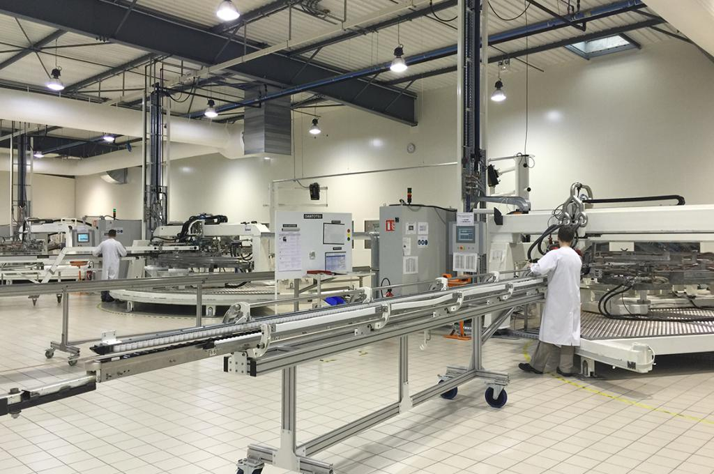 роботизация производства сфера применения