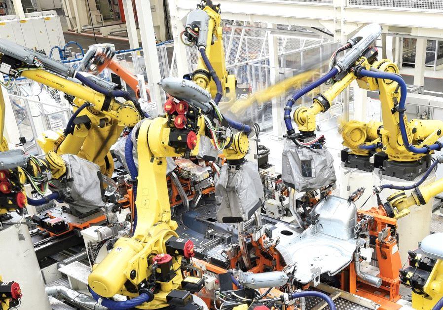 роботизация современного производства