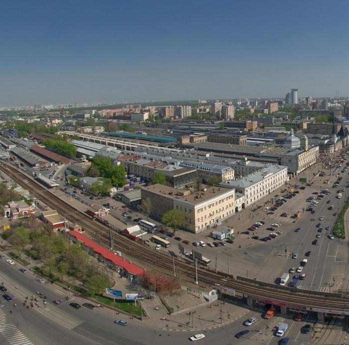 москва октябрьская станция