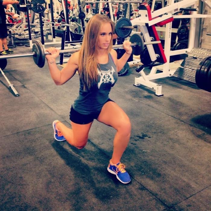 Упражнения для девушек в тренажерном зале картинки 19