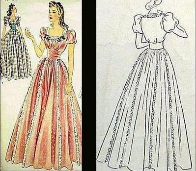 Платье в пол своими руками и выкройки 75