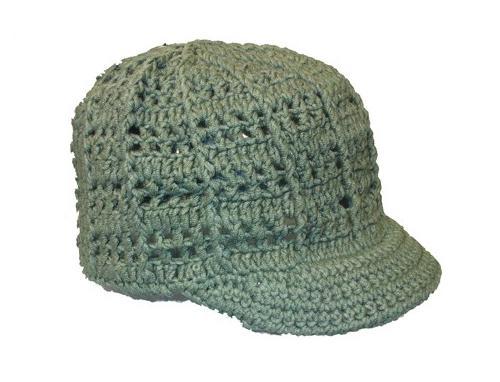кепки вязание крючком
