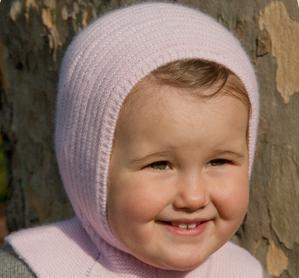 вязание шапки шлема для девочки