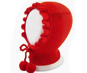 связать шапку шлем для девочки