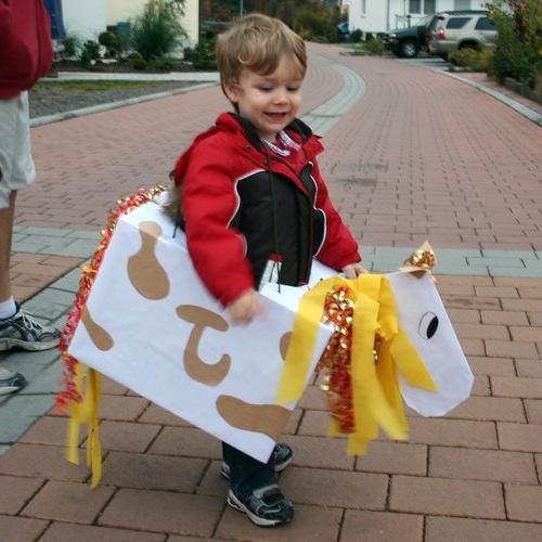 как сшить костюм лошади
