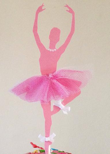 как сделать из бумаги балерину