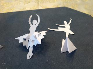 схемы балерин из бумаги