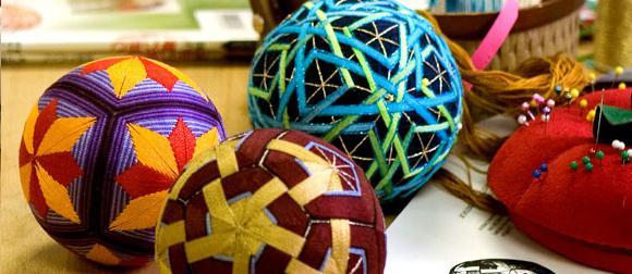 шары темари как сделать