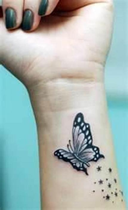Татуировки на кисть для девушек фото