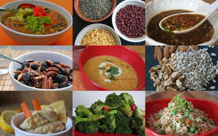 продукты содержащие грубые пищевые волокна