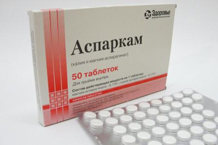 калий и магний в таблетках
