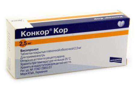 конкор таблетки от чего