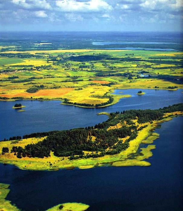 голубые озера беларусь