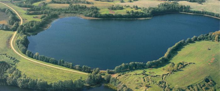 голубые озера белорусь любань