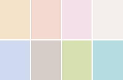 Пастельные тона это какие цвета фото