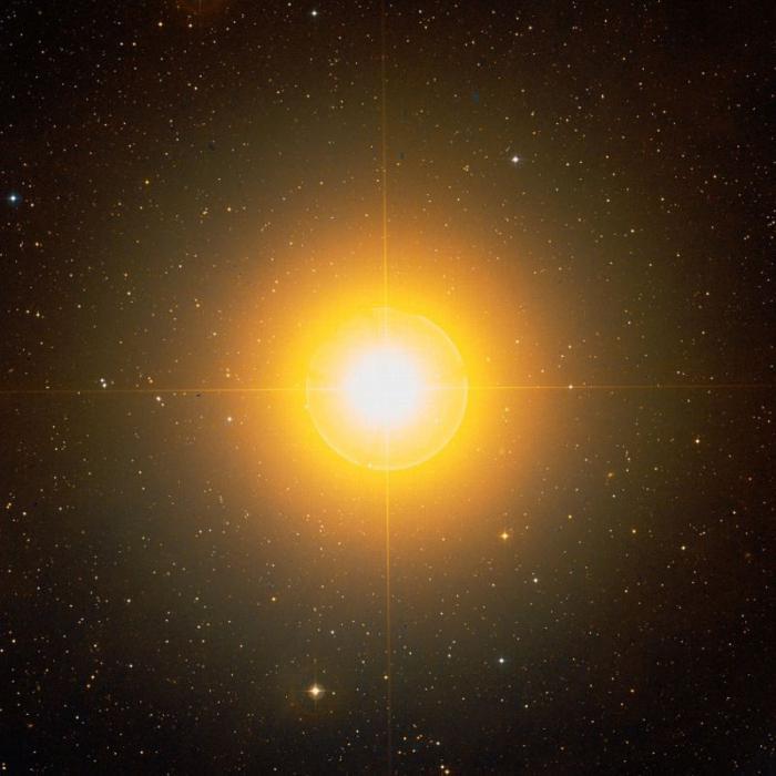 звёзда альдебаран фото
