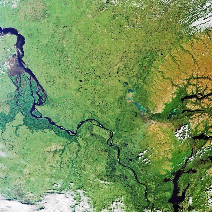 енисей река фото